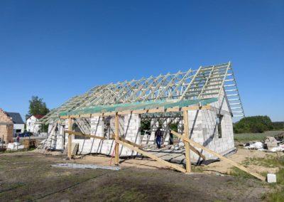 Konstrukcja dachu dwuspadowego