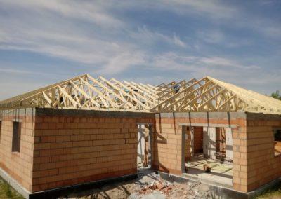 Wielospadowa konstrukcja dachu prefabrykowanego
