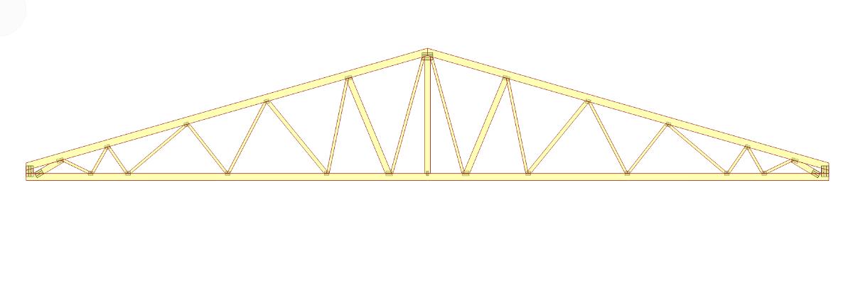 Projekt dachu marketu Biedronka