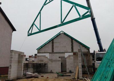 Dach dwuspadowy z poddaszem